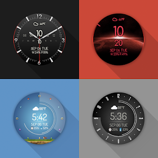Watch Face - Minimal & Elegant for Android Wear OS Screenshot