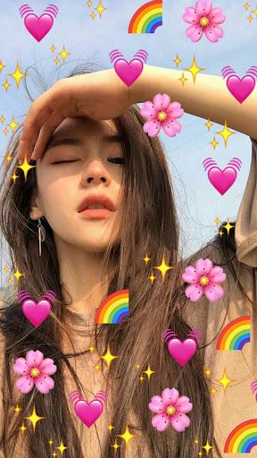 Emoji Photo Editor ud83dudc99 (Emoji & Crown Heart Emoji) 3.1 Screenshots 1