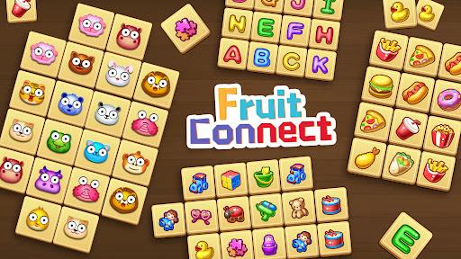Fruit Connect: Onet Fruits, Tile Link Game  screenshots 1