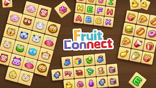 Fruit Connect: Onet Fruits, Tile Link Game 1