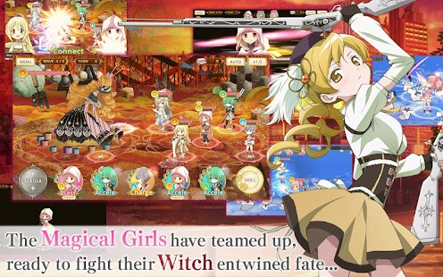 Magia Record English Screenshot