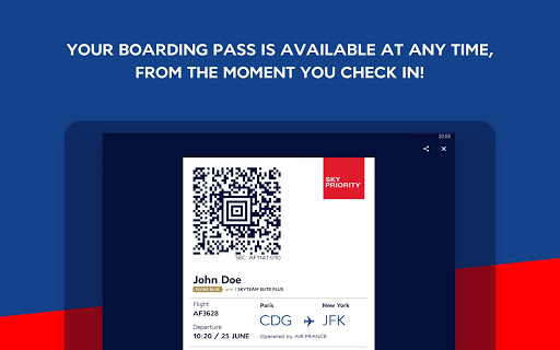 Air France - Airline tickets 5.1.0 Screenshots 8