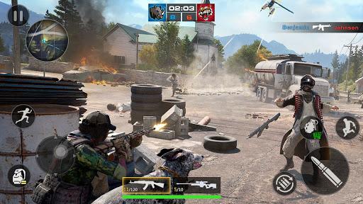 FPS Encounter Strike 2020: New Gun Shooting Games screenshots 12