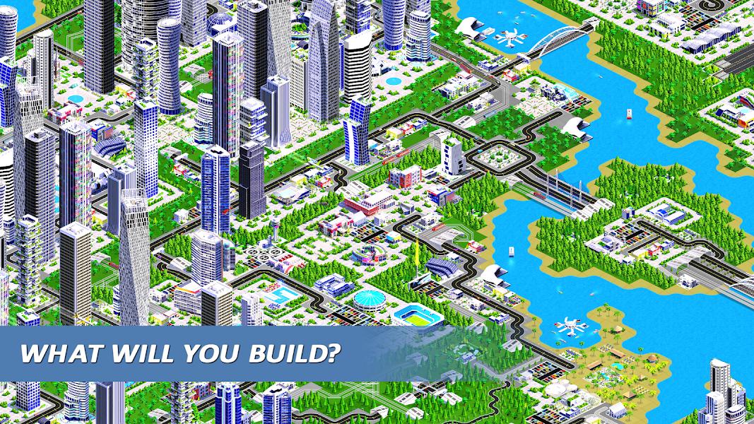 Designer City 2: city building game