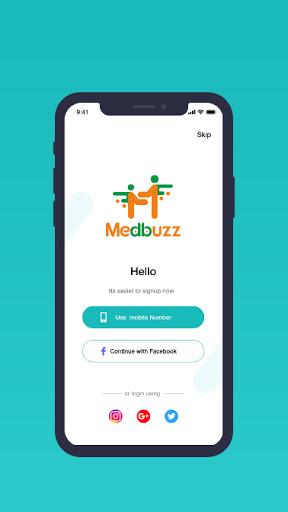 Medbuzz screenshot for Android