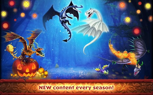 Dragons: Rise of Berk Screenshot