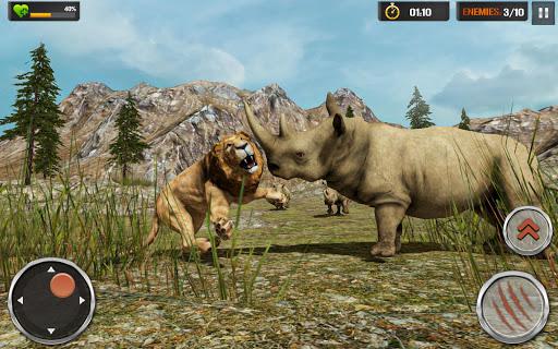 Lion Simulator - Wildlife Animal Hunting Game 2021 1.2.5 screenshots 2