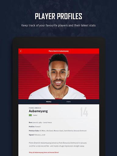 Arsenal Official App 6.0.3 Screenshots 14