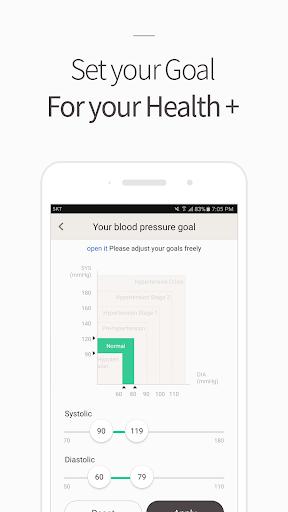Blood Pressure(BP) Diary 4.1.8 screenshots 5