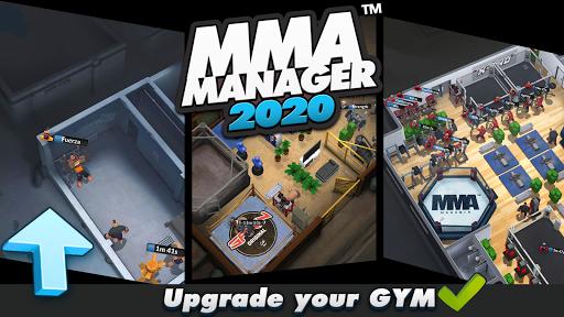 Télécharger MMA Manager  APK MOD (Astuce) screenshots 1
