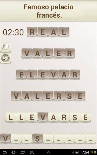 PALABRAS - Juego de Palabras en Espau00f1ol 1.2020 screenshots 8