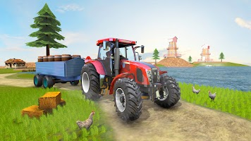 Real Tractor Farmer Simulator: Tractor Games