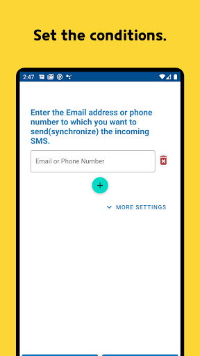 SMS Forwarder - Auto forward SMS to PC or Phone modavailable screenshots 2