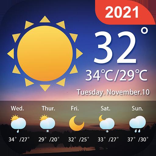 Previsión meteorológica - Alertas - Widget
