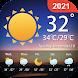 天気予報-ローカル気象警報-デスクトップウィジェット
