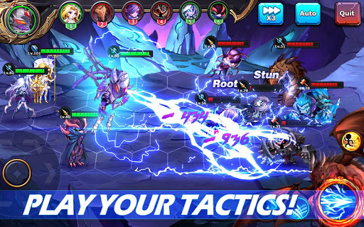 Runelords Arena: Tactical Hero Combat IDLE RPG screenshots 17