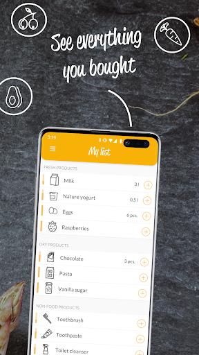 HNGRY - Intelligent shopping list  screenshots 3