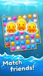 Ocean Friends: Match 3 Puzzle MOD APK (Unlimited Boosters) 1