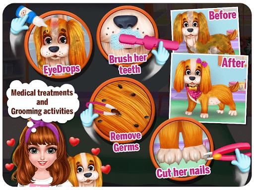 Puppy Pet Vet Salon And Daycare Activities 3.0.3 screenshots 9