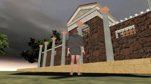 3d restoration - apulum castrum principia basilica screenshot 2