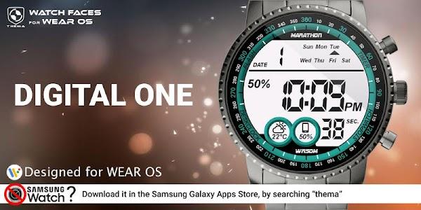 Digital One Watch Face 1.21.09.0119 (Paid) (SAP)