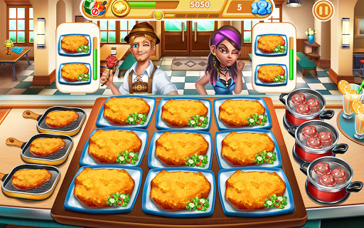 Cooking City: frenzy chef restaurant cooking games  screenshots 10