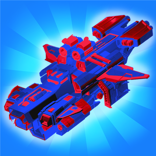 Merge Space Ships: Cyber Future Merger 3D