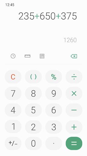 Samsung Calculator