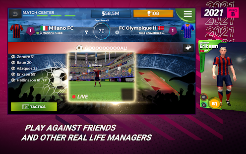 Pro 11 - Football Management Game 1.0.82 Screenshots 13