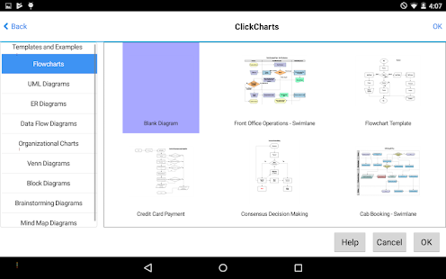 ClickCharts Flowcharts Free Screenshot