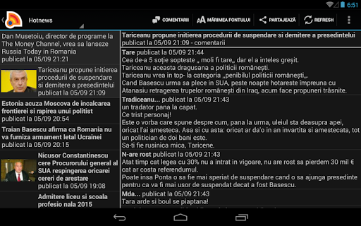 Stiri din Romania 4.9.0 Screenshots 12