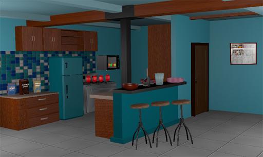 3D Escape Games-Puzzle Kitchen  screenshots 3