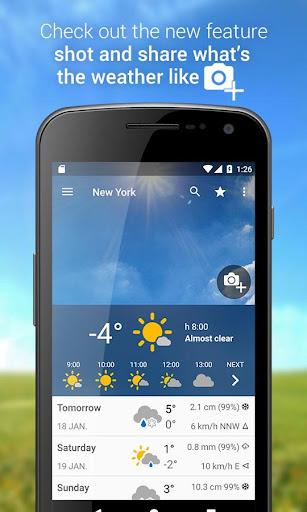 3B Meteo - Weather Forecasts  Screenshots 1