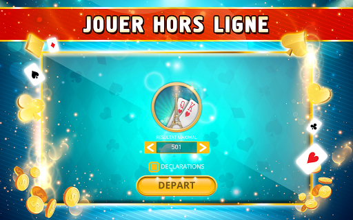 Belote Offline - Single Player Card Game screenshots 9