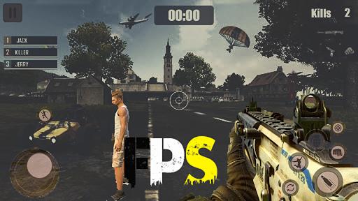 Strike Fire 3d survival Commando Fps 2021 screenshots 2
