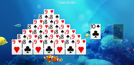 Screenshot of Pyramid Solitaire