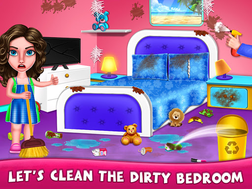 House Cleanup : Girl Home Cleaning Games 3.9.1 screenshots 14
