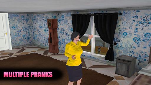Evil Scary Teacher Creepy Game: Horror House 3D screenshots 14