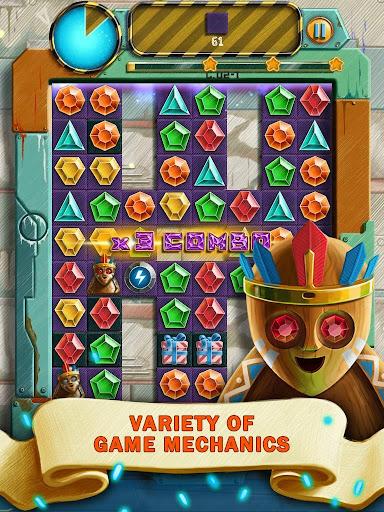 Doodle Jewels Match 3 1.1.5 screenshots 2