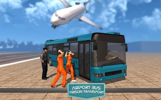 airport bus prison transport screenshot 2
