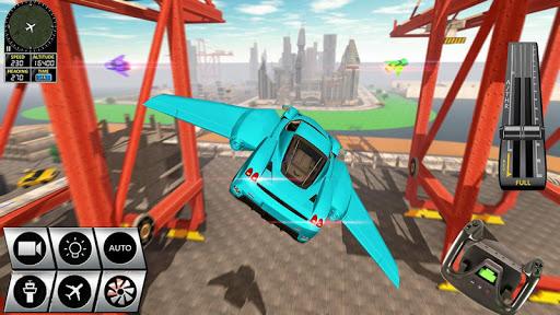 Futuristic Flying Car Racer screenshots 12