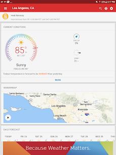 Weather data & microclimate : Weather Underground 9