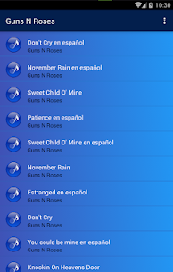 Guns N' Roses Popular Songs | Video Collection 1.0 Mod APK (Unlimited) 2