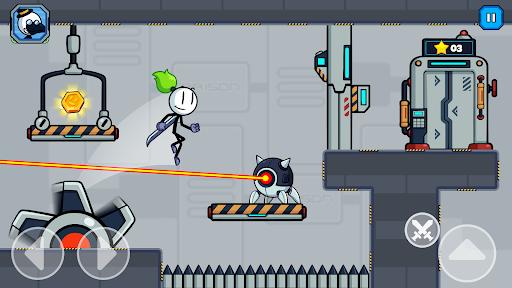 Stick Fight - Prison Escape Journey of Stickman apkpoly screenshots 6