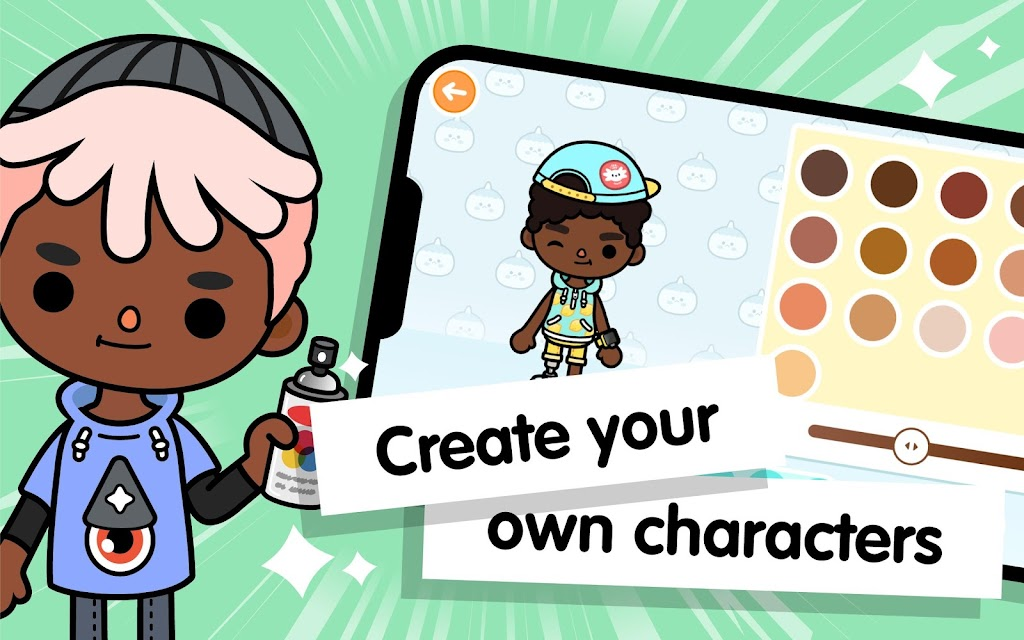 Toca Life World: Build stories & create your world  poster 9