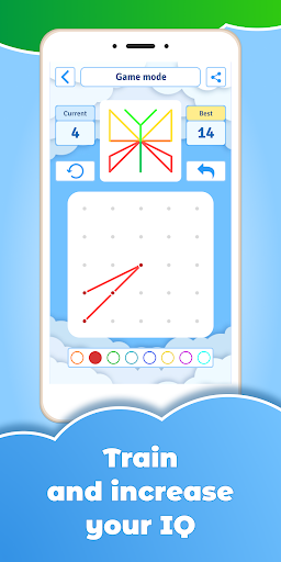 GeoBoard relaxing puzzle game drawing lines shapes  screenshots 4