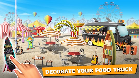 Download Food Truck Chef MOD APK [Unlimited Coins/Money/Crystals] 4