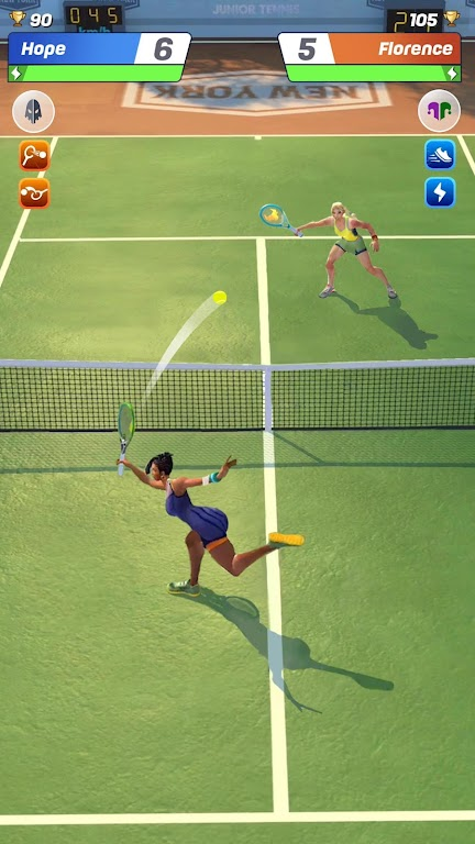 Tennis Clash: 1v1 Free Online Sports Game poster 2