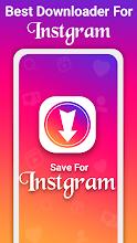 Saver for Instgram – Photo & video download screenshot thumbnail