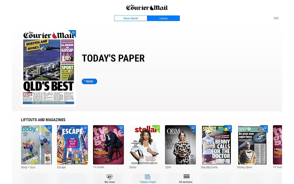 The Courier-Mail  poster 9